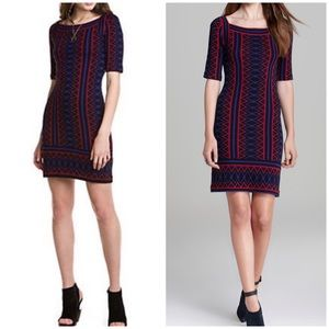 Trina Turk Milies Pinot Sweater Dress Aztec Print